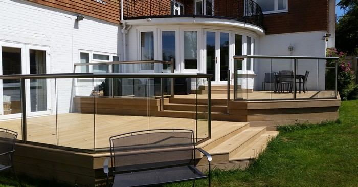 Composite decking & balustrade