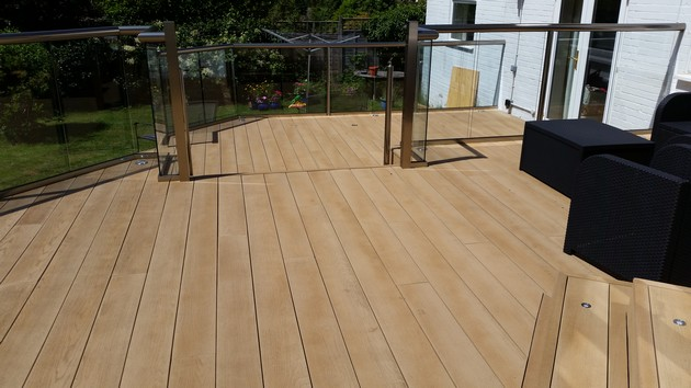 Composite and hardwood Decking
